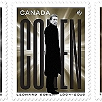 Canada Post Pays Tribute to the Masterful Leonard Cohen