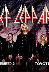 Def Leppard to Headline Grand Opening Concert for Hard Rock Hotel & Casino Sacramento at Fire Mountain