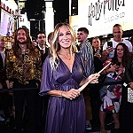 """Sarah Jessica Parker Helps Celebrate """"Harry Potter and the Cursed Child"""" Global Expansion with The Biggest Times Square Takeover On Record"""