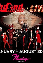 RuPaul's Drag Race Live! Las Vegas Set to Take Over the Iconic Flamingo Las Vegas With Residency Beginning January 2020