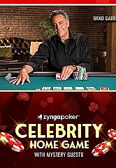 Zynga Poker Partners with Actor, Comedian and Card Shark Brad Garrett for 'Celebrity Home Game' Sweepstakes Event, Benefiting Maximum Hope Foundation