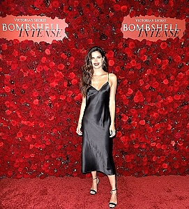 Angel Sara Sampaio Hosts Launch Party For New Victoria's Secret Fragrance, Bombshell Intense