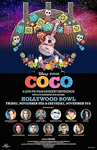 Disney And Pixar's 'Coco' Comes To The Hollywood Bowl For The First Time Live In Concert With Special Guests Including Benjamin Bratt, Eva Longoria, Carlos Rivera, Miguel, Jaime Camil And More