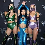 The Stars Were Out For Dan Bilzerian's Epic Halloween Party:  French Montana, Chuck Liddell, Nikita Dragun, Alesso, Vitaly Zdorovetskiy and more