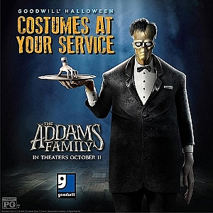 The Addams Family and Goodwill Offer Creepy, Kooky and Mysteriously Spooky Costumes that Don't Break the Bank
