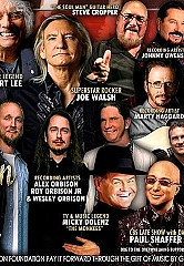 "Brian May, Joe Walsh, Sammy Hagar, Mickey Dolenz, Jason Scheff, Paul Shaffer and Many More to Unite in Nashville for ""James Burton & Friends"""