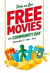 Free, Festive and Fun! Cineplex in Canada to Host Annual Community Day on December 7
