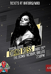 AHF to Host 2019 World AIDS Day Concert in Dallas With Special Guest Diana Ross