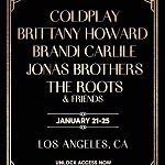 Coldplay, Brittany Howard, Brandi Carlile and the Jonas Brothers, to Headline First Citi Sound Vault Shows of the Decade