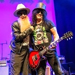 Gibson Live At The Grove: Music Legends And New Icons Kick-Off All-Star Concert Featuring Slash, Don Felder, Billy Gibbons, Rick Nielsen, Robin Zander, and more at Winter NAMM 2020