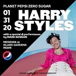 Harry Styles to Headline Pepsi Zero Sugar Super Bowl LIV Party on Friday, Jan. 31 with Special DJ Performance by Mark Ronson