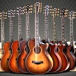 Taylor Guitars Broadens Its Popular Builder's Edition Collection With The Release Of Four Unique New Models
