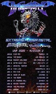 UNLEASH THE ARCHERS and VISIONS OF ATLANTIS Announce Upcoming USA Tour with Dragonforce Beginning March 5 in Phoenix, AZ