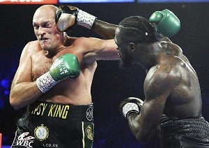 Tyson Fury Stops Deontay Wilder in Round Seven to Capture WBC Heavyweight Title Saturday Night From the MGM Grand Garden Arena in Las Vegas