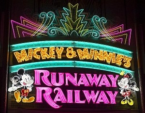 "Panasonic Creates Immersive Cartoon World with First Ever Disney Ride-Through Attraction ""Runaway Railroad"" Featuring Mickey Mouse and Friends"