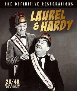 Laurel & Hardy: The Definitive Restorations Coming to DVD and Blu-ray on June 16th