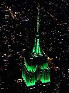 """Empire State Building and Billy Joel Turn the Bright Lights on Broadway With a New Light Show Set to """"Miami 2017"""""""