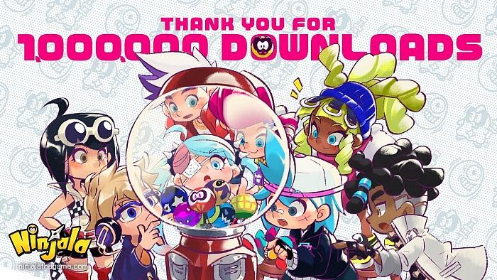 Ippon! Ninjala Surpasses 1 Million Downloads in Just 16 Hours After Launch; Free on the Nintendo Switch