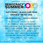 "Katy Perry and Black Eyed Peas to Co-Headline Star-Studded Rock the Vote ""Democracy Summer 2020"" Kick-Off Concert on June 18"