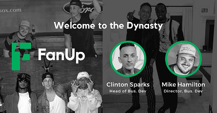 In preparation for the public launch of its social gaming app in August, FanUp has added two top-level execs to its team. Taking the lead as head of business development is influencer Clinton Sparks and directing brand and media partnerships is Michael Hamilton.