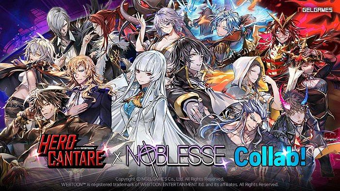 """Popular Webcomic """"Noblesse"""" Comes to Hero Cantare"""