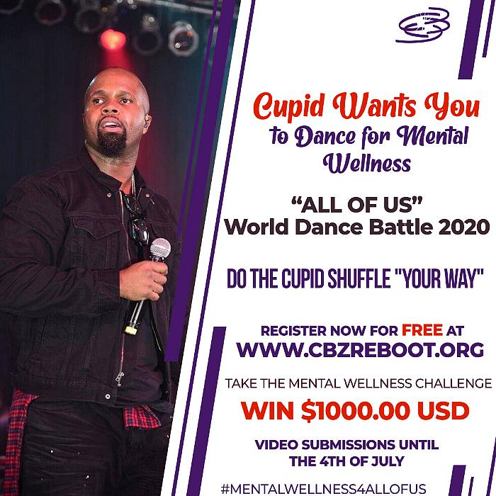 CUPID Supports Mental Wellness With the Cupid Shuffle in 'All of Us' World Dance Battle 2020