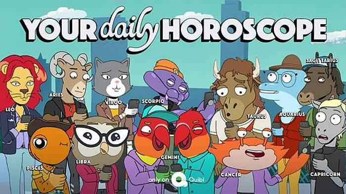 "New Animated Show ""Your Daily Horoscope"" to Premiere on Quibi July 6"