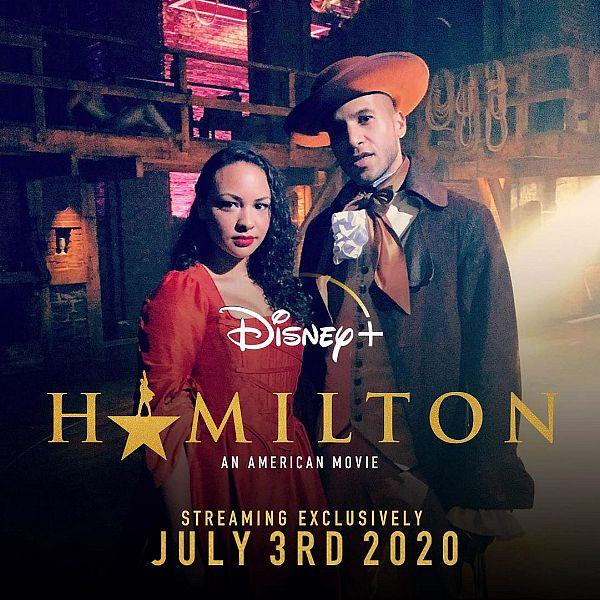 "Actor Sydney James Harcourt Featured in ""Hamilton"" Movie Releasing July 3 on Disney+"