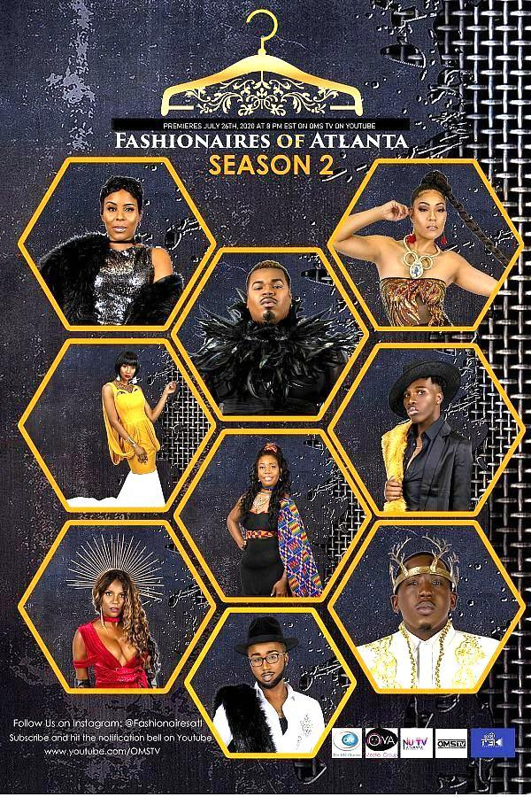 "OMSTV's Hit Series ""Fashionaires Of Atlanta"" Set To Return For Season 2 On Sunday, July 26 - 2 Hour Special"