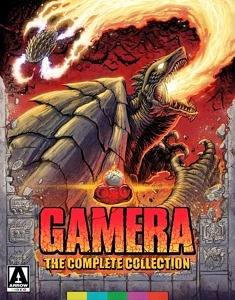 Gamera: The Complete Collection; Limited Edition Blu-Ray Boxset; Coming 8/18 (North America) and 8/17 (UK)