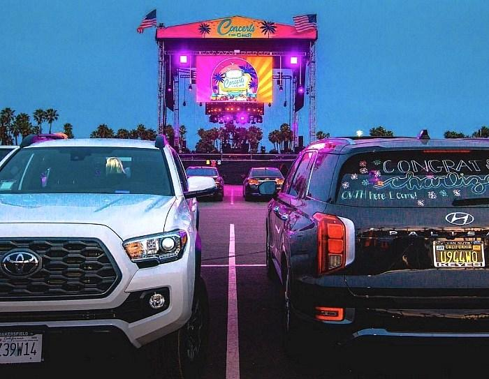 Concerts in Your Car, California's First Socially Distanced Concert and Entertainment Series in Los Angeles Area