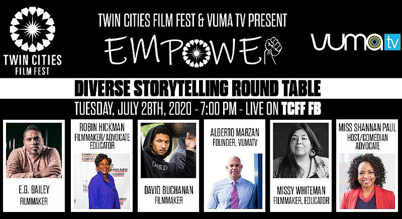 Twin Cities Film Fest Announces 2020 Hybrid Film Fest & New Diversity Series Presented In Partnership With VumaTV