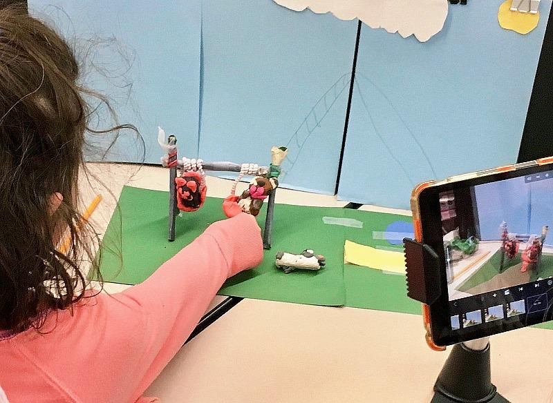 You can learn how to make your own stop motion animations in an online, on-demand camp experience