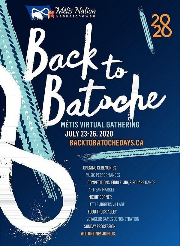 Métis Nation - Saskatchewan Invites Everyone to 'Virtual Back to Batoche,' Online Gathering