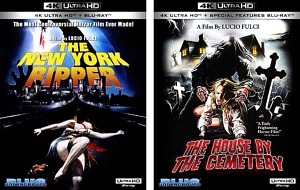 """Blue Underground to Release """"The New York Ripper"""" and """"The House by the Cemetery"""" on 4K UHD Blu-Ray on August 25"""