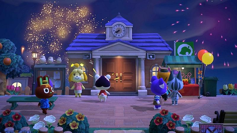 Fireworks Shows, Dreaming and More Make Their Way to Nintendo's Animal Crossing: New Horizons