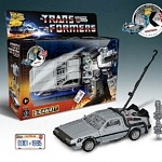 Great Scott! TRANSFORMERS-Back to the Future Collaboration Introduces 'Gigawatt' Character