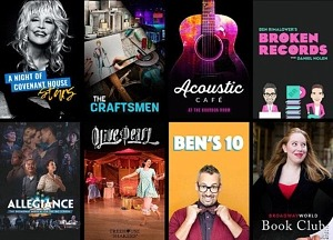 Broadway on Demand Puts Broadway Back to Work — Open Submission Call for Broadway Professionals to Join New Subscription Series