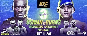 UFC Kicks off Events on UFC Fight Island With Three Thrilling World Championship Fights