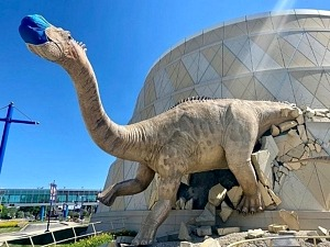 Dinosaurs Roaring, Carousel Spinning as World's Largest Children's Museum Re-opens to the Public