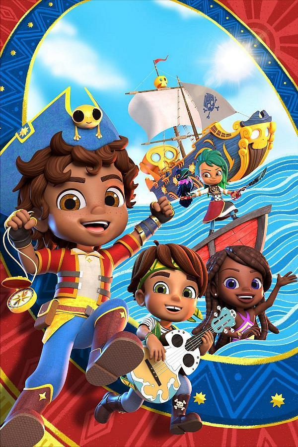 "Nickelodeon's Brand-New Preschool Series ""Santiago of the Seas"" Sets Sail for Action-Packed Adventures, Oct. 9"
