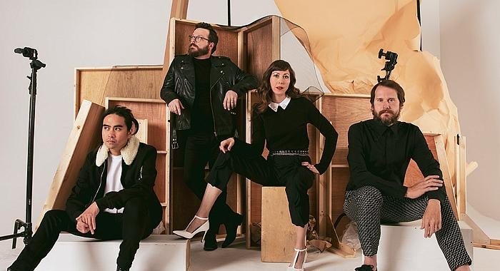 """Silversun Pickups Perform """"Don't Know Yet"""" on Full Frontal With Samantha Bee;  5th Studio Album """"Widow's Weeds"""" Out Now"""