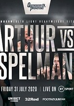 Lyndon Arthur vs Dec Spelman Light Heavyweight Clash Headlines Afternoon of UK Boxing LIVE on ESPN+ July 31