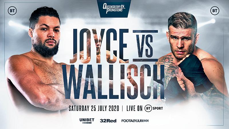 Heavyweight Destroyer Joe Joyce to Headline Against Michael Wallisch LIVE on ESPN+ July 25