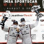 Acura Wins Wet & Wild Road America