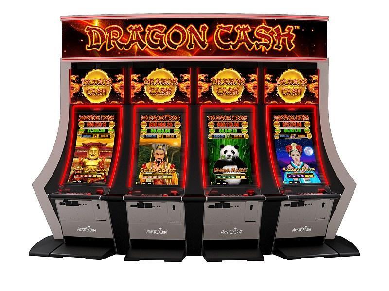 Aristocrat Technologies' All-New Dragon Cash Makes West Coast Debut at San Manuel Casino