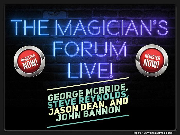 NewsBlaze and Basics Of Magic to Promote The Magician's Forum LIVE 2 August 7-8