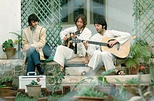 """Gathr Films Sets Worldwide Event Cinema Premiere of Emmy-Winning Director Paul Saltzman's Documentary """"Meeting the Beatles in India"""" for September 9"""