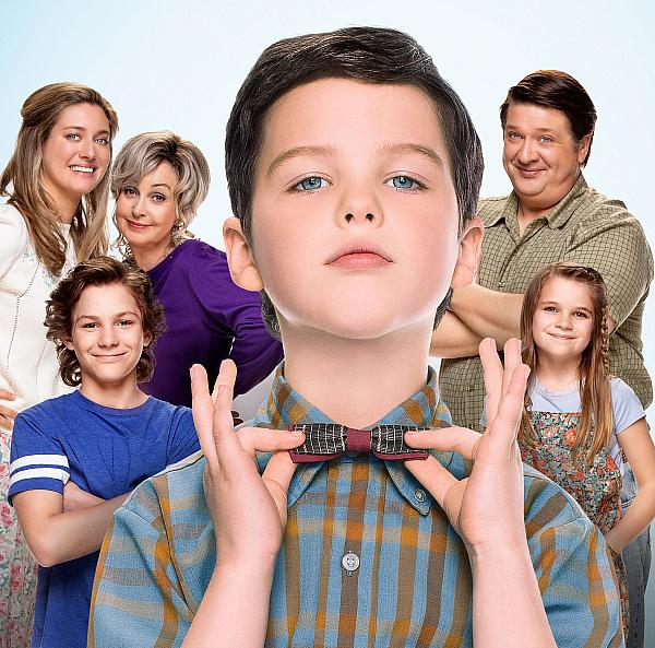 Genius Loves Company as Top-Rated Sitcom Young Sheldon Joins Nick at Nite's Family Comedy Lineup in November