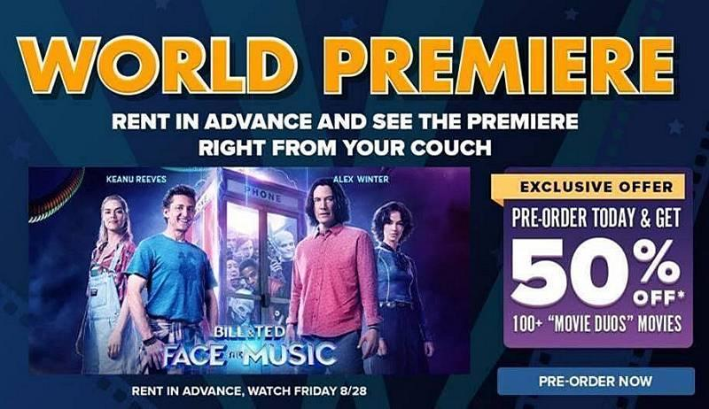 """""""Bill & Ted Face the Music"""" Now Available for Preorder on FandangoNOW"""